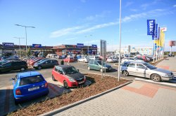 Grand opening of retail park Fastmall in Orlová